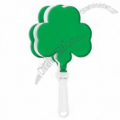7 inch Shamrock Shaped Hand Clappers
