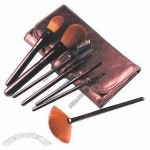 7-pc Makeup Brush Set, Goat/Sable/Nylon Hair