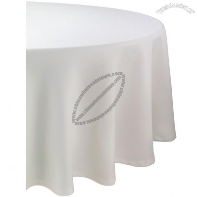 70in Round Ivory Tablecloth