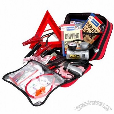 73 pieces Road Emergency Kit AAA approved