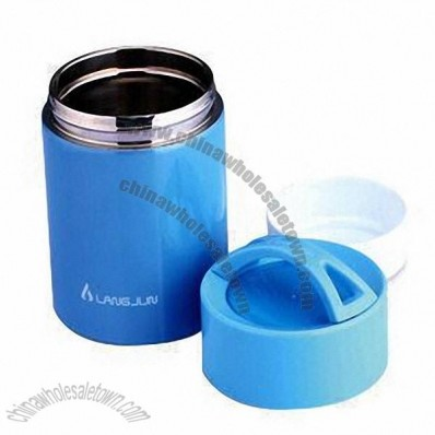 750ml Thermal Lunch Box with Colorful Appearance