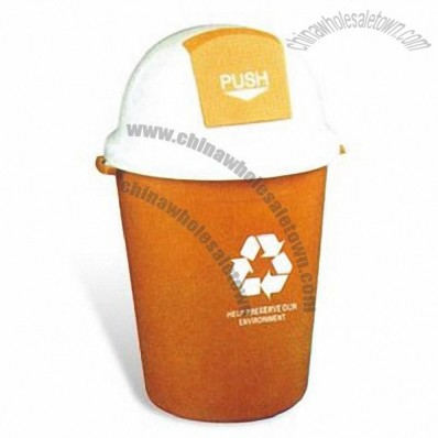 77 x 45cm Waste/Trash Bin with 80L Capacity