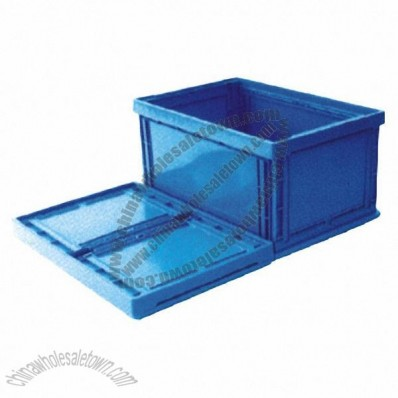 77L Foldable Plastic Crate