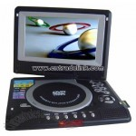 7inch Swivel LCD Portable DVD Player with USB, Analog TV, Card Reader