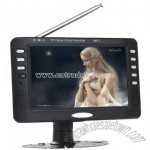 7inch TFT LCD Analog TV with DVB-T Receiver