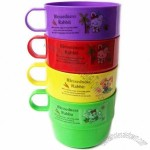 7oz Plastic Tea Mug Set