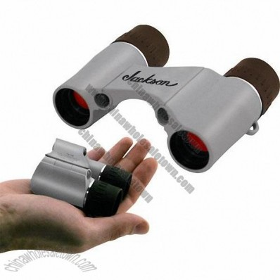 7x18 Pocket Binoculars with Nylon Case