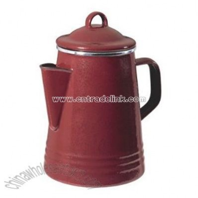 8-Cup Percolator Red
