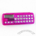 8-Digit Calculator with Pencil Case