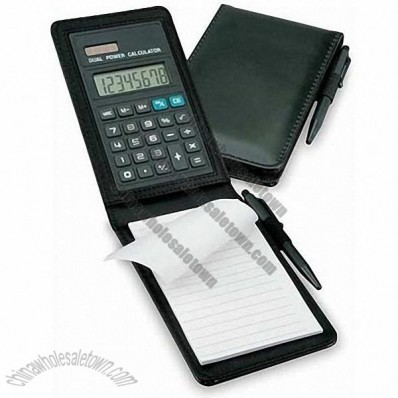 8 Digital Calculator with Notebook