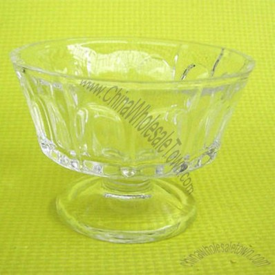 8 Ounce Glass Ice Cream Bowl 78 x 110mm