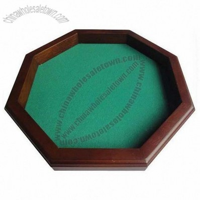 8 Side Wooden Dice Tray