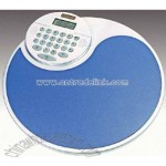 8 digit dual power optional rotating calculator mouse pad