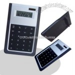 8 digit dual power with folding easel stand on the back super thin desktop calculator