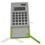 8 digits calcualtor with memo pad and pen