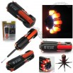 8 in 1 Multifunction Screwdriver with 6 LED Flashlight