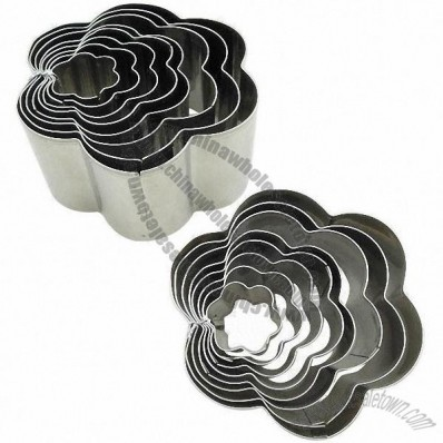 8-piece Cake Cutter Set in Cercis chinensis Shape
