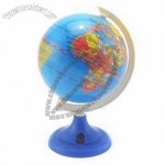 8.5cm Globe with Pencil Sharpener