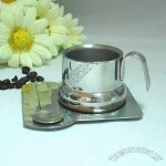 80cc Stainless Steel Coffee Cup Set