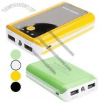 8400mAh Universal Power Bank with Double USB Output for Portable Device