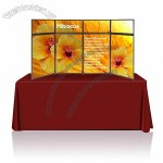 8ft Tabletop Panel Display Graphic Package