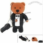 8g Cute Bear Tuxedo Suit Shaped Flash Drive