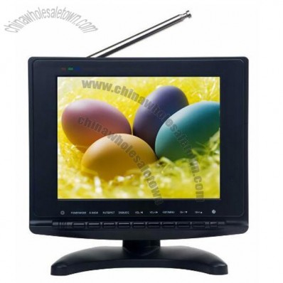 8inch HD DVB-T MPEG-4 H. 264 PVR Analog TV
