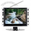 8inch TFT LCD DVB-T with Analog TV, USB, Card Reader