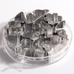 8pcs Butterfly Stainless Steel Cake Mould