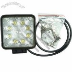 9-30V auto parts LED Driving light, SUV ATV Off road LED worklight, ATV parts LED work light