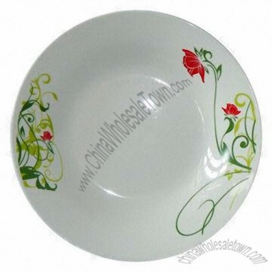 9-inch Porcelain Salad Bowl with Round Shape