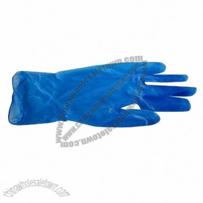 9-inch Vinyl Examination Gloves with FDA Certificate, for Medical Use