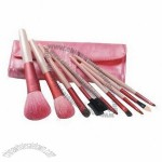 9-pc Travel Makeup Brush Set