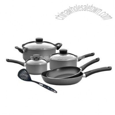 9-pc. Cookware Set - Silver Fusion