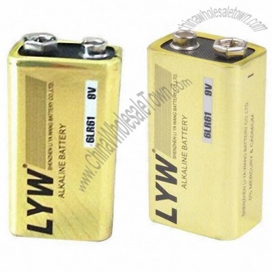 9 volt battery with CE and RoHS certificates