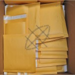 9.5x14.5 KRAFT BUBBLE MAILERS PADDED ENVELOPES #4