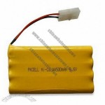 9.6V Ni-CD Rechargeable Battery Pack with High Capacity