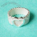 925 Sterling Fashion Ring (Super A Quality)