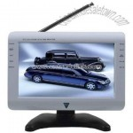 9inch DVB-T with Analog TV, USB, Card Reader