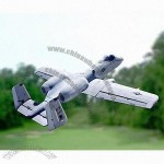 A-10 Remote Controlled Airplane, Twin 70mm EDF, Warthog, CE Certified