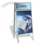 A-shape Poster Stand With Top Board