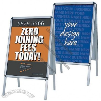 A1 A-Frame Double-Sided Poster Display Stand