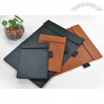 A4 B6 Leather Writing Board with Magnetic and Pen Holder