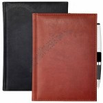 A4 Large Leather Look Notebook