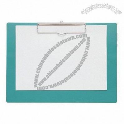 A4 Lateral Direction A4 PVC Clip Board Without Plates