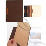 A4 Size Leather Index File Holder