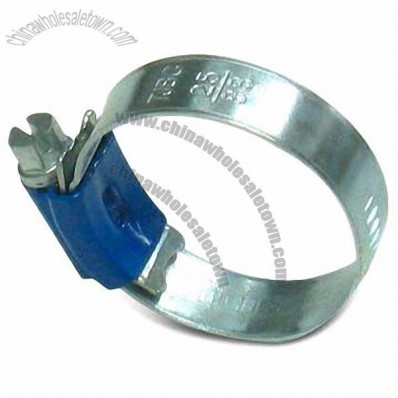 ABA Type Hose Clamp, 9.7mm And 11.7mm Bandwidth