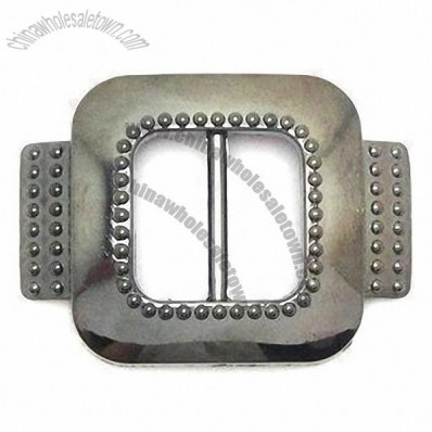 ABS Garment Buckle with Bar at Center