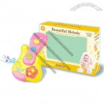 ABS Material Electronic Guitar Baby Toy with Music