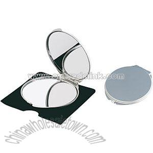 ALUMINIUM MAKE-UP MIRROR